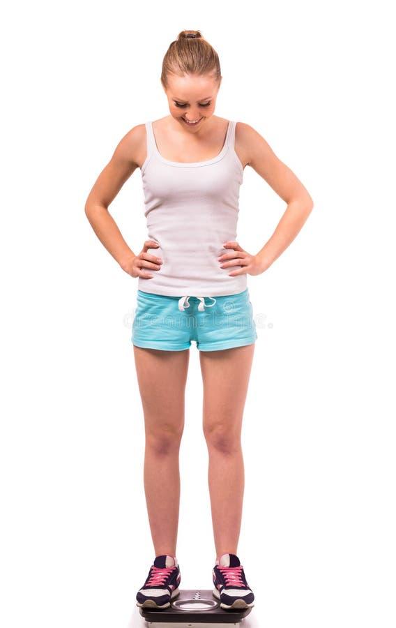 Mädchengesundheit und -eignung stockfotos