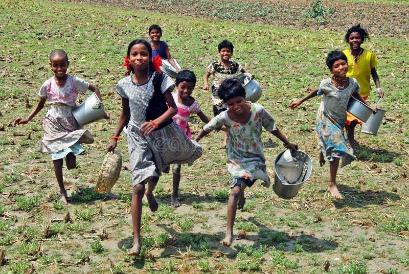 Mädchenkind in Indien lizenzfreie stockbilder