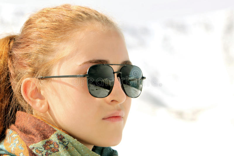 Mädchenportrait lizenzfreie stockfotos