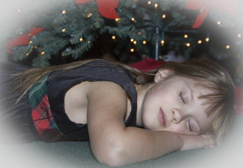 Mädchenträumen stockbild