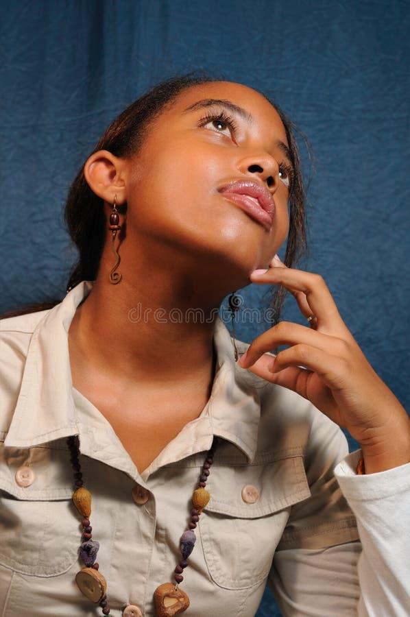 Mädchenwundern stockfotos
