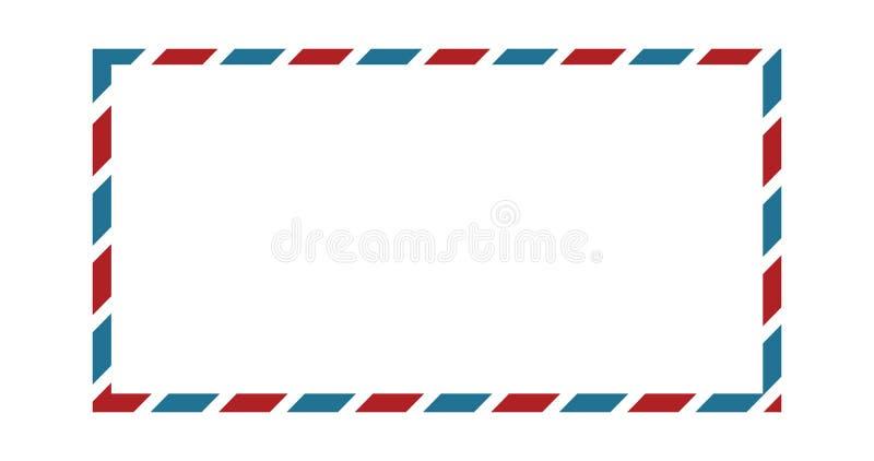 Männliche Grenze der Luft, Vektorillustration lokalisiert auf weißem Hintergrund stock abbildung
