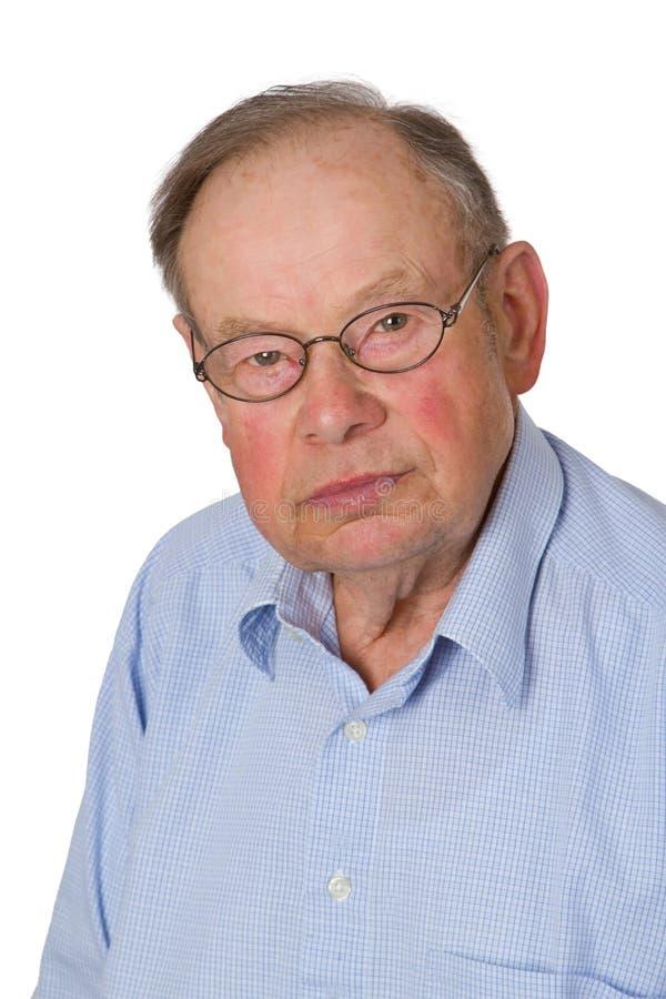 Männlicher Älterer stockfotos