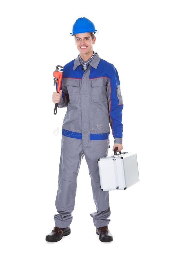 Männlicher Arbeitskraftschlüssel lizenzfreie stockbilder