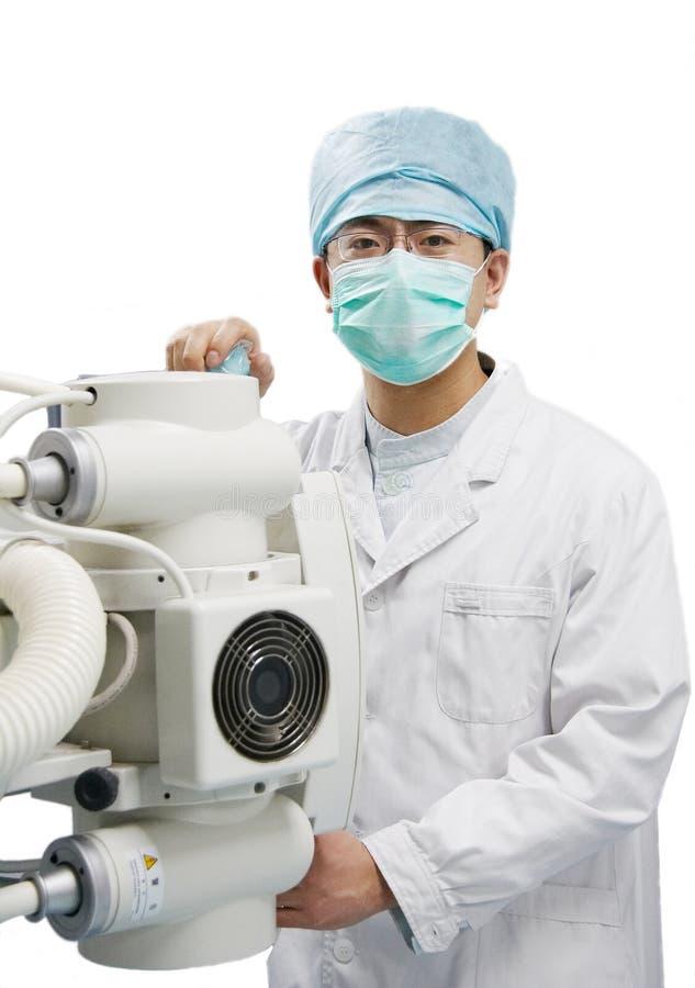 Männlicher Doktor lizenzfreie stockfotos