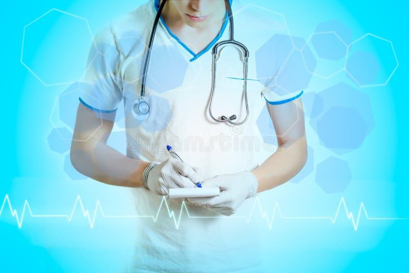 Männlicher Doktor stockfoto