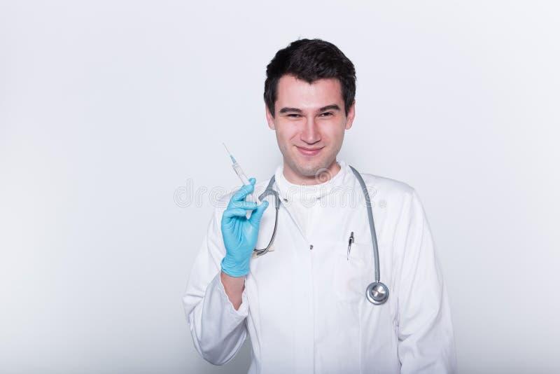Männlicher Doktor stockbilder