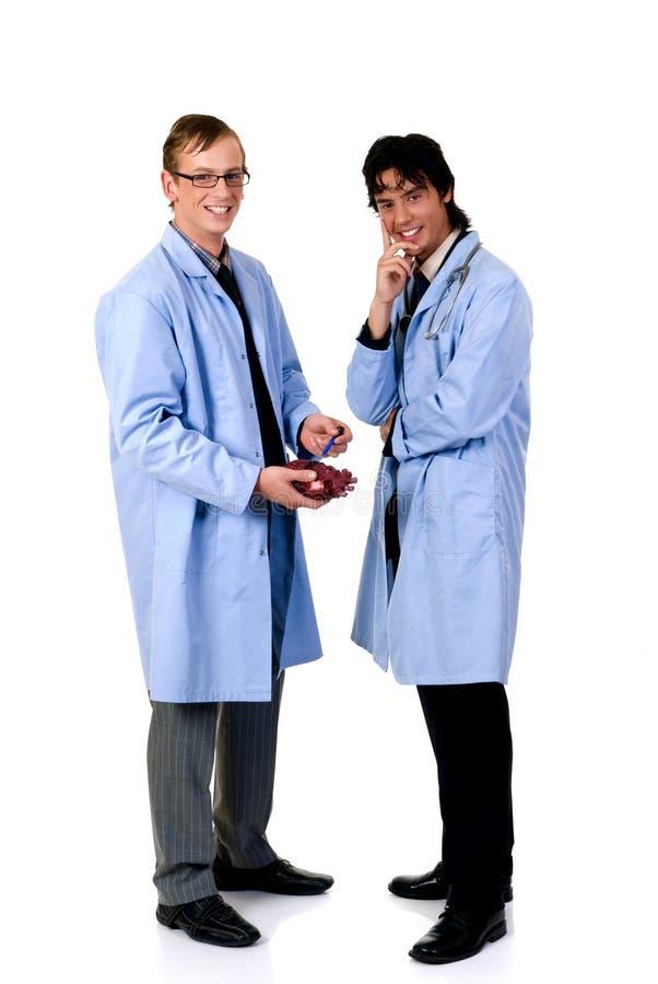 Männlicher Kardiologe lizenzfreie stockfotografie