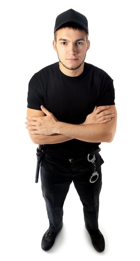 Männlicher Sicherheitsbeamte lizenzfreie stockbilder