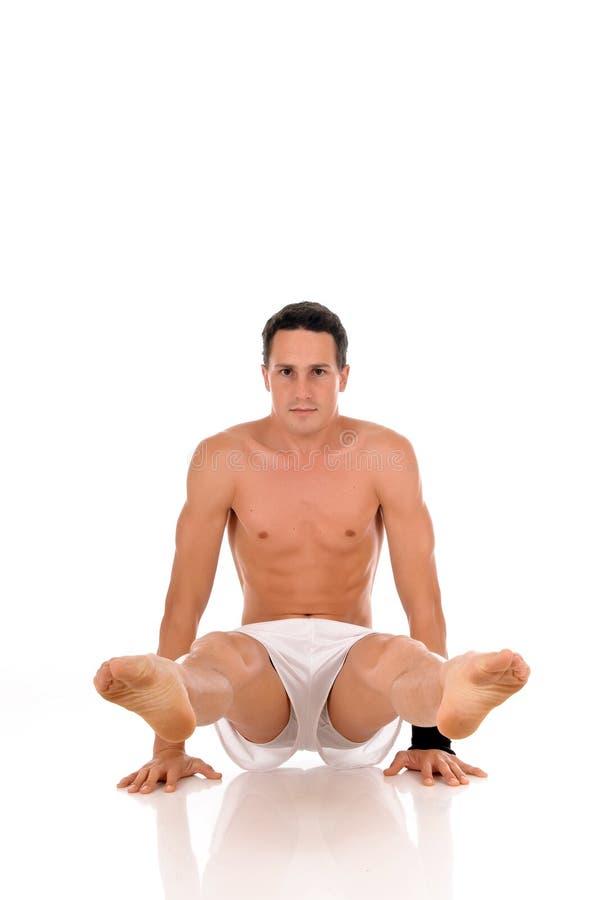 Männliches Athlet ftiness lizenzfreie stockbilder
