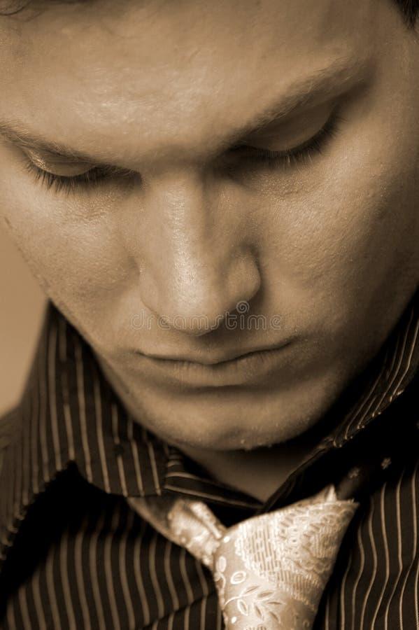 Männliches Gesicht lizenzfreie stockbilder