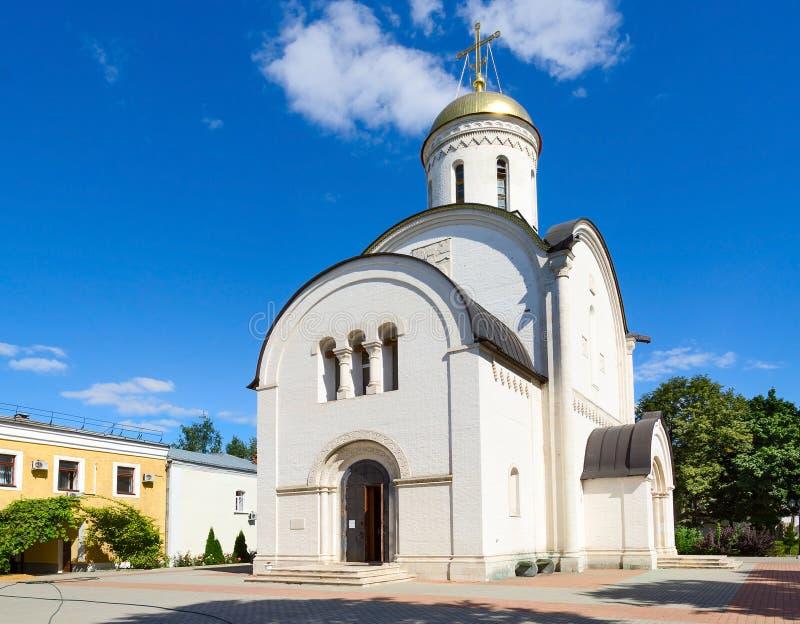 Männliches Kloster BogorodItze - Rozhdestvensky, Vladimir, Russland stockfotos