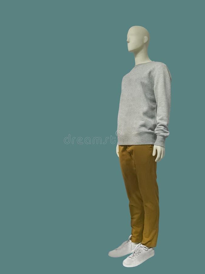 Männliches Mannequin in voller Länge lizenzfreie stockfotografie