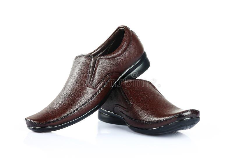 Mäns formella skor arkivfoton