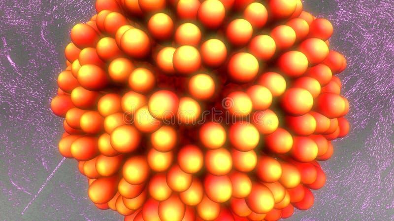 Mänsklig äggcell royaltyfri illustrationer