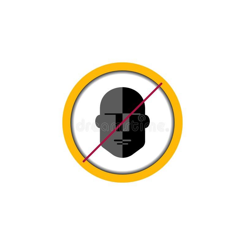 Mänsklig cirkel för platta vektor illustrationer