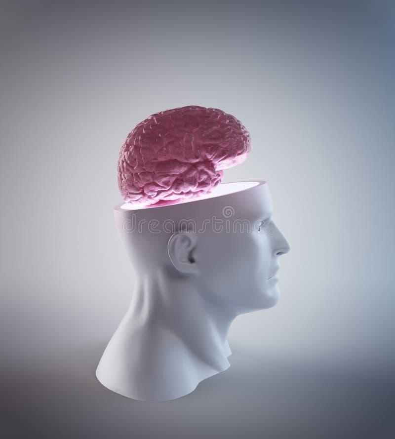 mänsklig intelligens vektor illustrationer