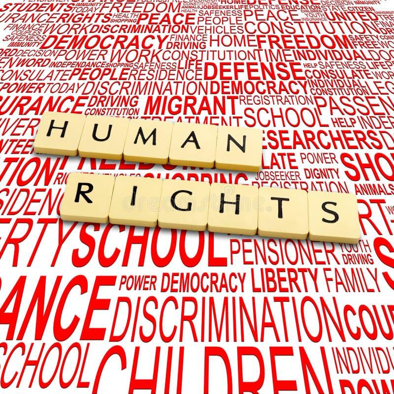 mänsklig rättighet royaltyfri foto