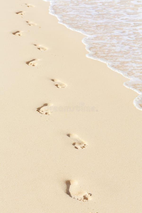 mänskliga sandtraces royaltyfri bild
