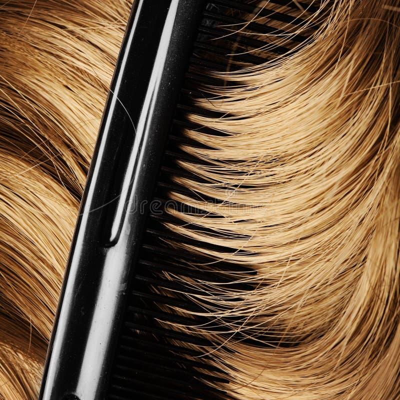 Mänskligt hår royaltyfri fotografi