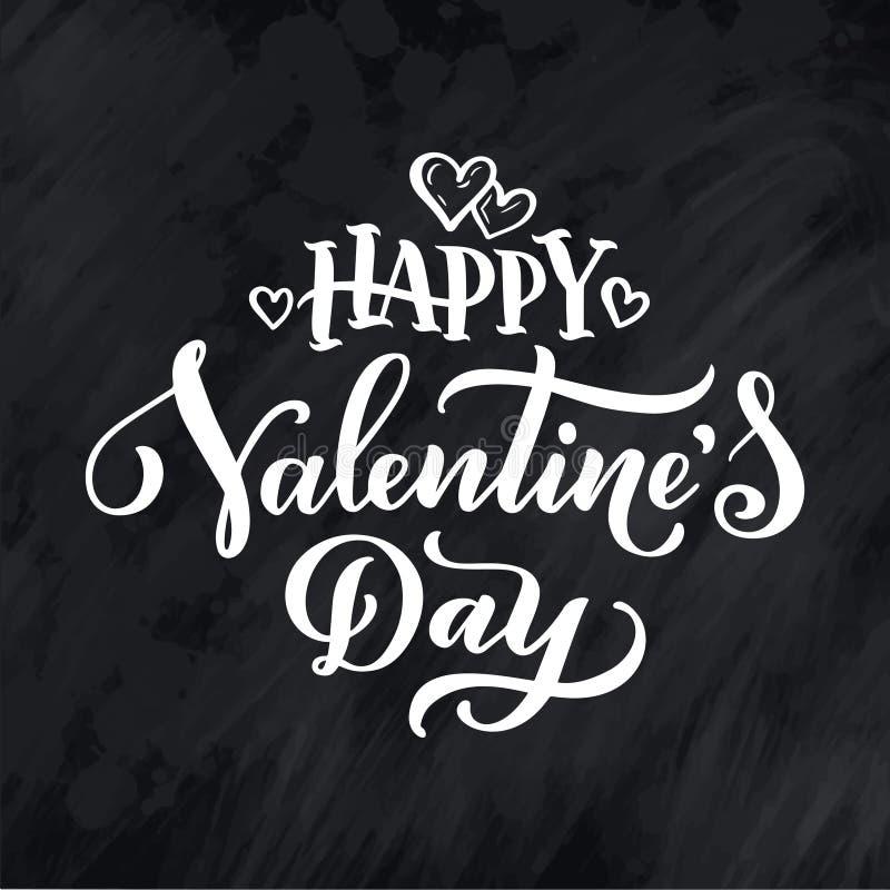 Märka citationstecken om förälskelse Hand dragen typografiaffisch För hälsningkort, valentindag, bröllop, affischer, tryck eller  stock illustrationer