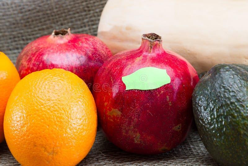 Märkande begrepp för mat royaltyfri bild