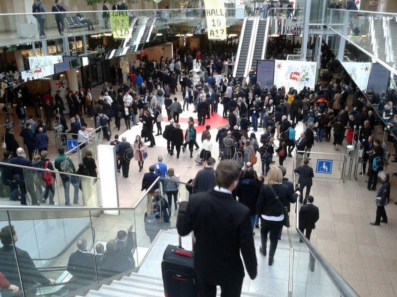 Mässa för detaljhandel för DÃ-¼sseldorf royaltyfri foto