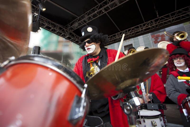 mässingsfestivalinternational royaltyfri fotografi