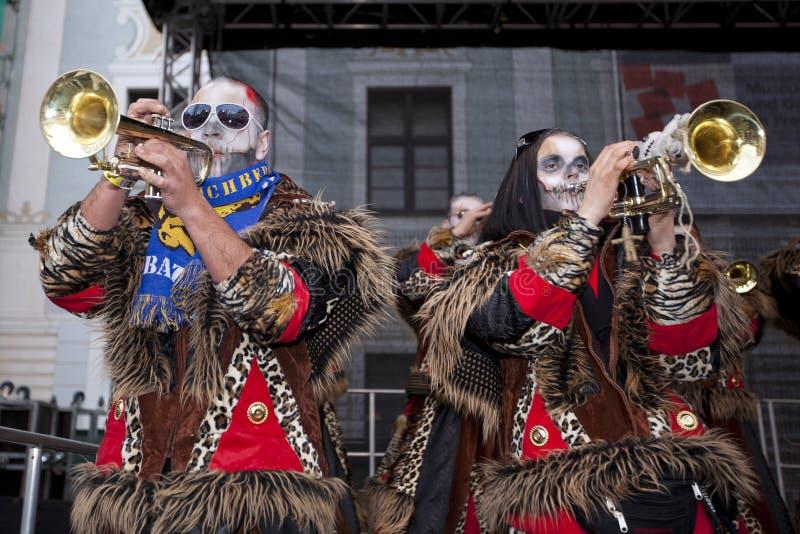 mässingsfestivalinternational royaltyfria bilder