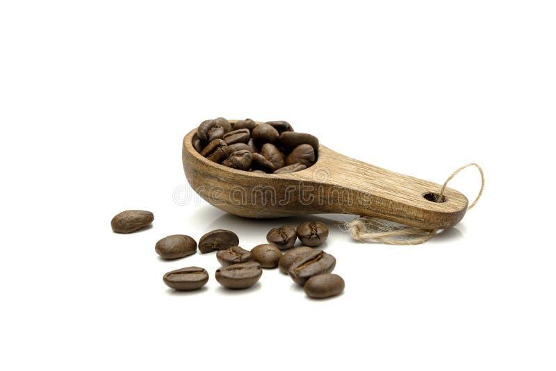 mätande sked för kaffe royaltyfri bild