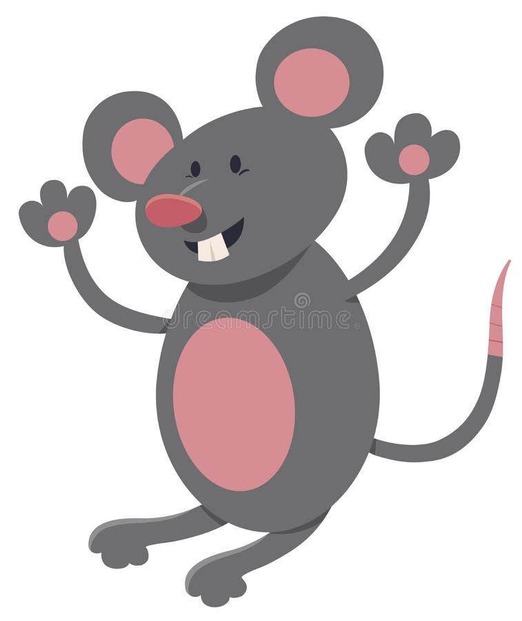 Mäusetiercharakter vektor abbildung