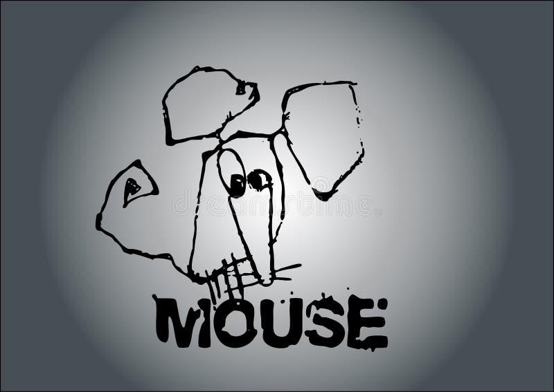 Mäusevektor lizenzfreie abbildung