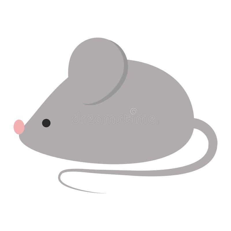 Mäusevektorillustration vektor abbildung