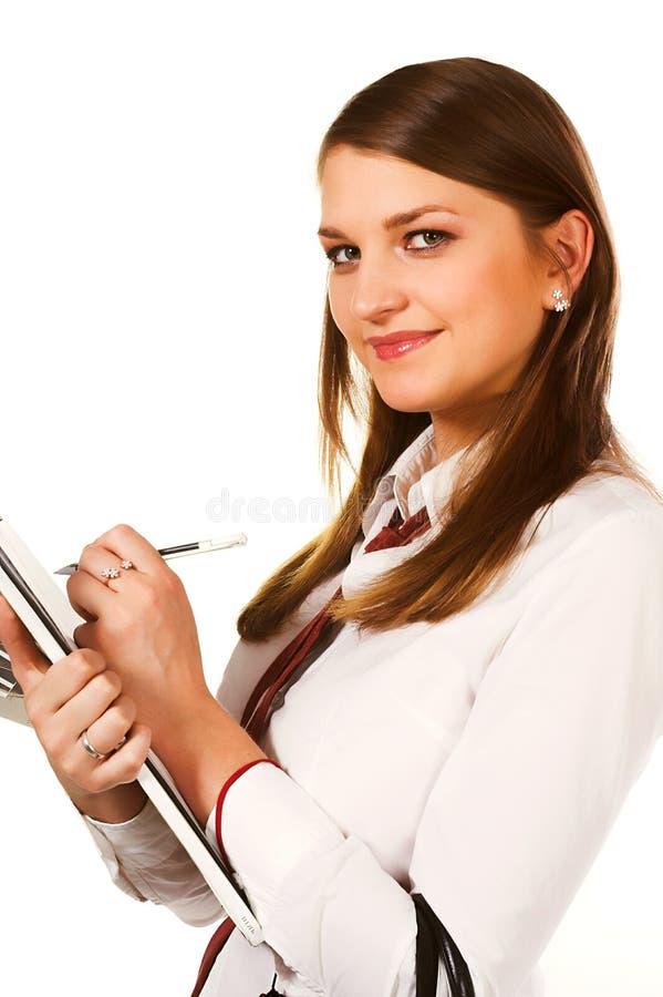 Młoda biznesowa kobieta obrazy stock