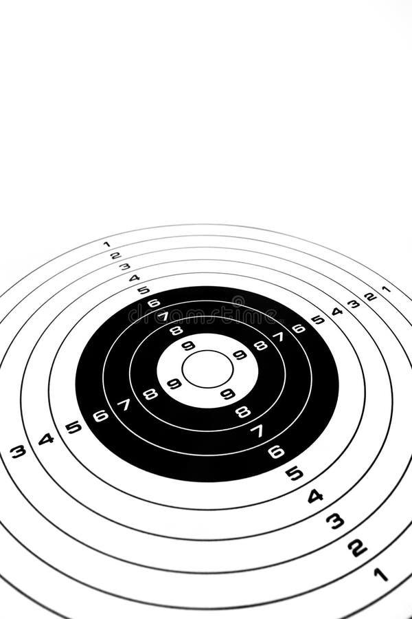 mål för bullseyeaffärsframgång stock illustrationer