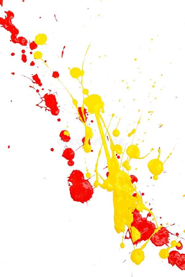 måla färgstänk