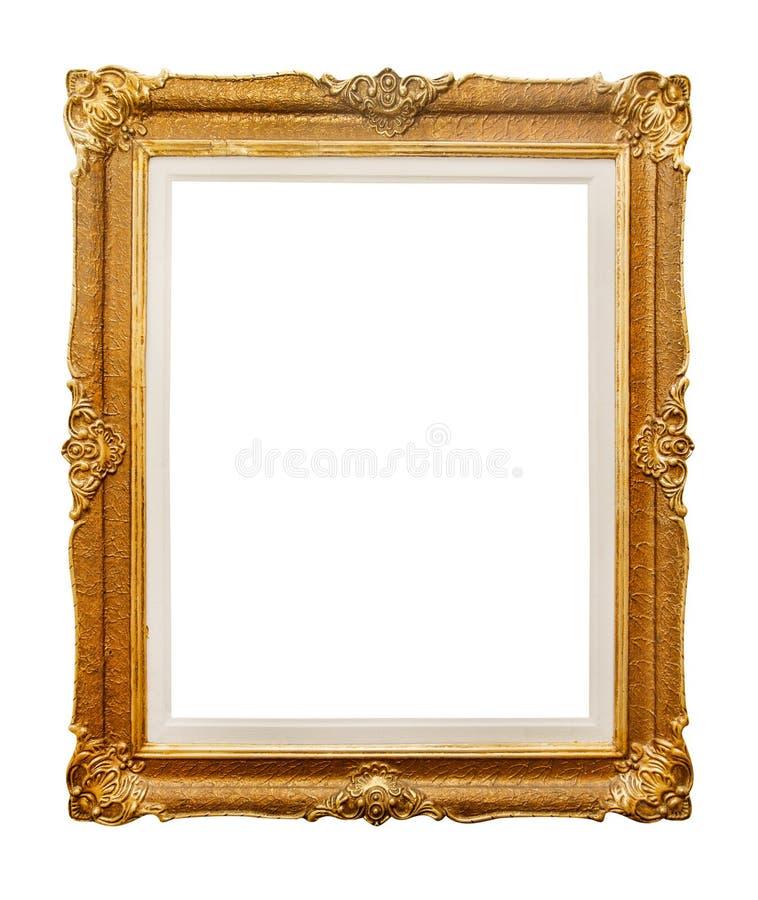 Måla ramen på vit royaltyfri fotografi