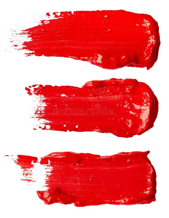 måla red arkivbild