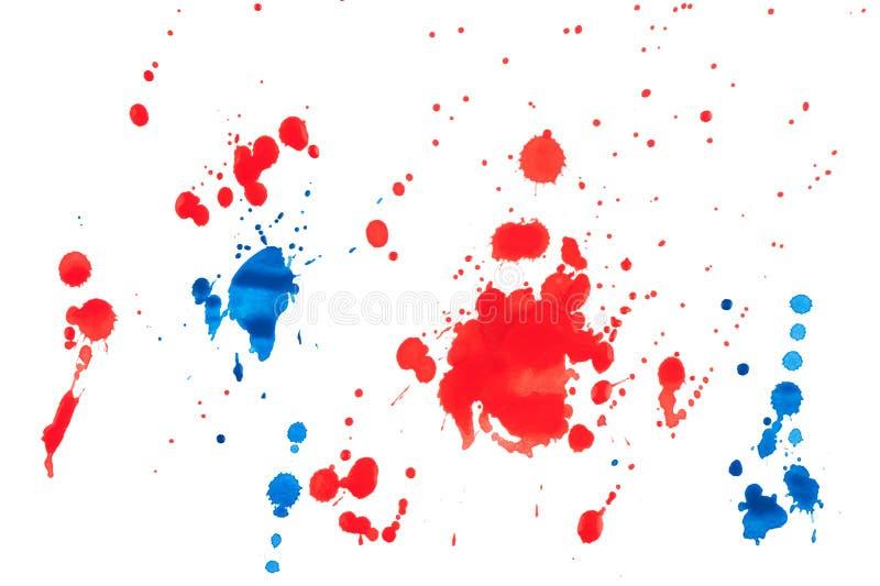 måla splat fotografering för bildbyråer