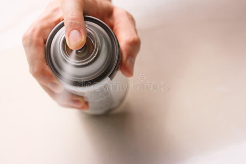 måla spray arkivbild