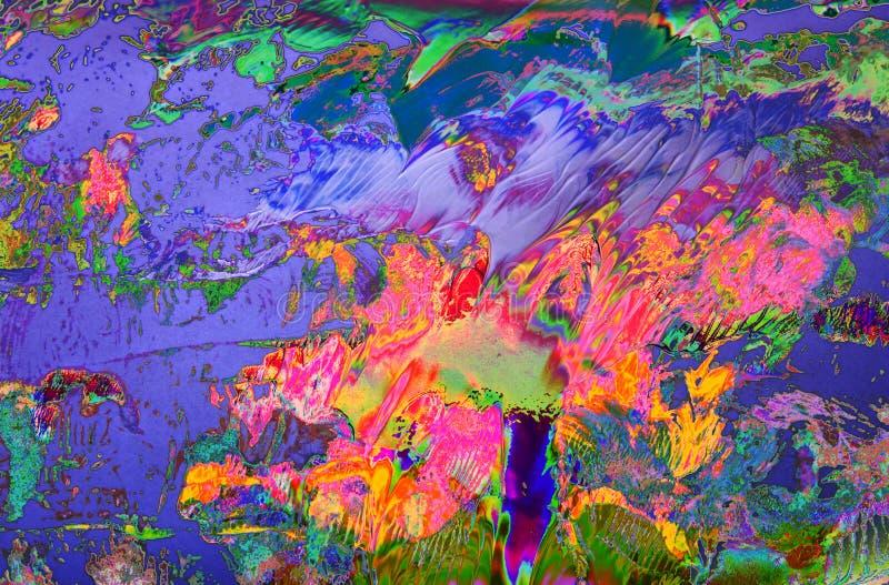 måla textur vektor illustrationer