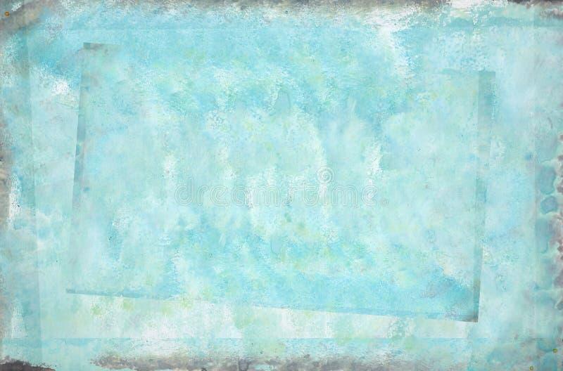 målad abstrakt azure arkivbilder