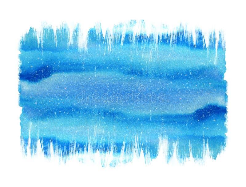 Målad bakgrund för vattenfärg ljus hand Handgjord åldrig pappers- textur Grungesamkopiering för kort, inbjudningar, rengöringsduk royaltyfri illustrationer