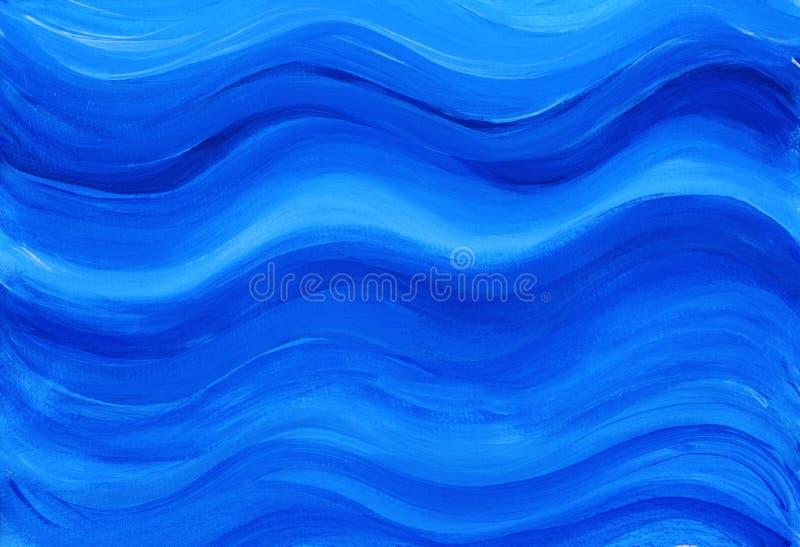 målad bakgrundsblue arkivbild