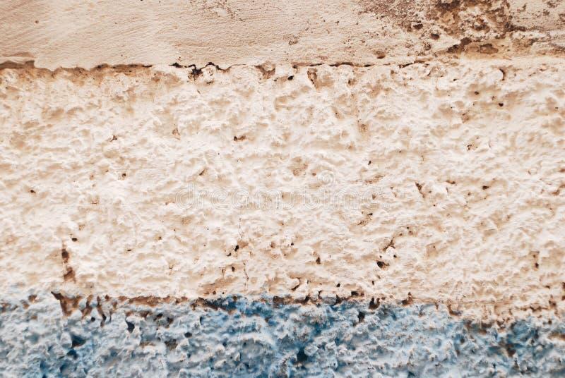 Målad betongvägg för pastellfärgad färg arkivfoto