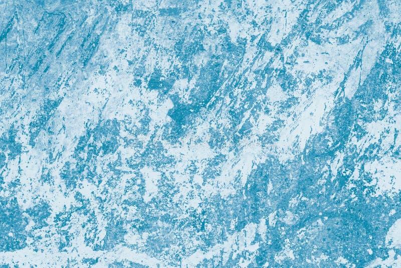 Målad bild med marmorerad effekt Ljus blå vattenfärgabstraktion med färgstänkfläckar av färgpulver Konstdesign, modern modell, ab royaltyfria foton