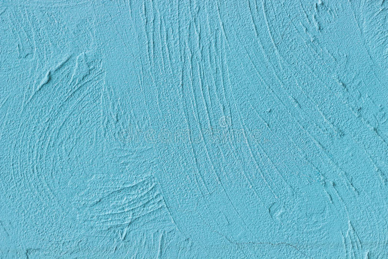 Målad blåttcementvägg royaltyfri bild