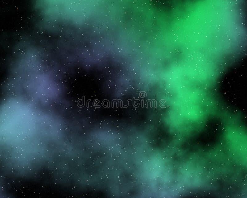 målad nebula 3 arkivfoto