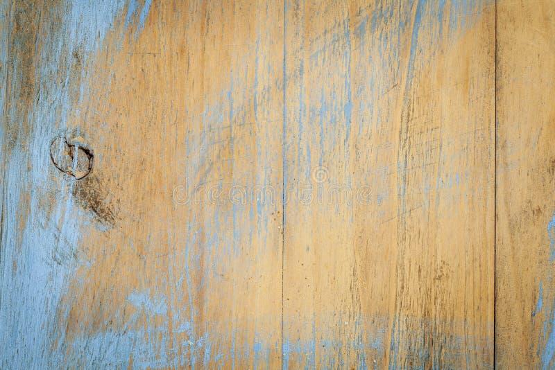 Målad och för skrapa wood textur arkivbilder