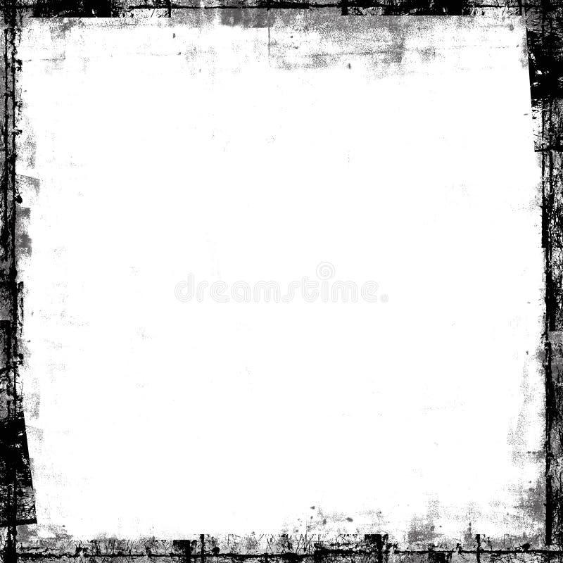 målad textur för ramgrungemaskering samkopiering royaltyfri foto